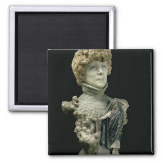 Portrait Bust of Sarah Bernhardt (1844-1923) Frenc Magnet
