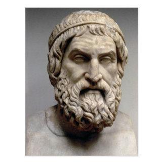 Portrait bust of Sophocles Postcard