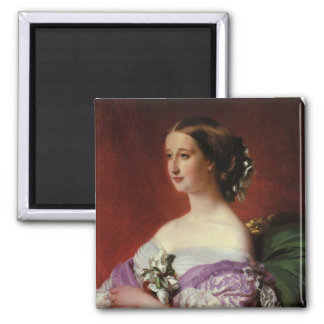 Portrait by Franz Xaver Winterhalter Magnet