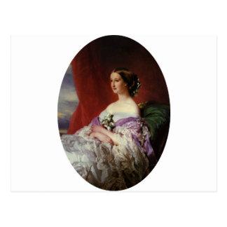 Portrait by Franz Xaver Winterhalter Postcard