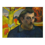 Portrait by Paul Gauguin, 1889 Post Card