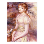 Portrait by Pierre Renoir Post Card