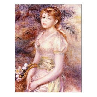 Portrait by Pierre Renoir Postcard