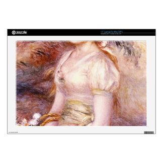 Portrait by Pierre Renoir Skin For Laptop