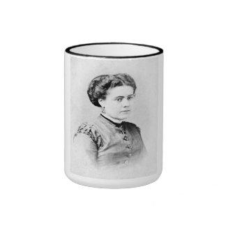 "PORTRAIT ""CECILE"" (1870s) Ringer Coffee Mug"