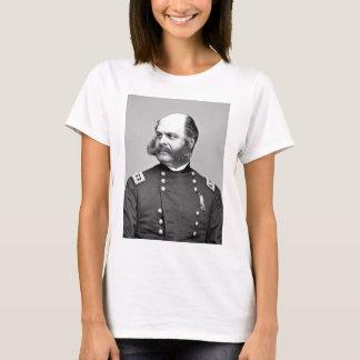 Portrait Civil War General Ambrose E. Burnside T-Shirt