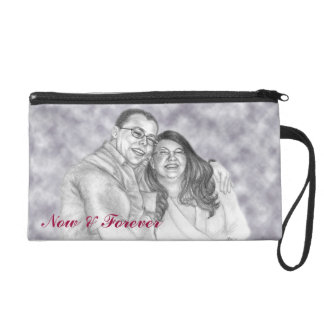 Portrait Customizable Wristlet Bag