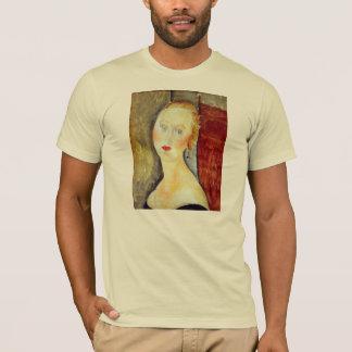 portrait de Germaine Survage by Amedeo Modigliani T-Shirt
