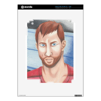 Portrait Decal For The iPad 2