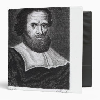 Portrait Dr Simon Forman  engraved by Godfrey Vinyl Binder