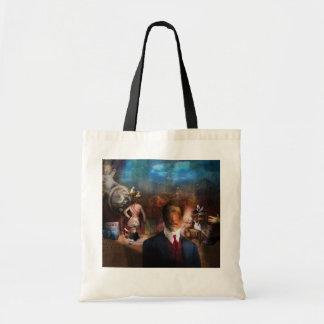 Portrait Du Magicien - A portrait of a Magician Tote Bag