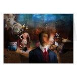 Portrait Du Magicien - un retrato de un mago Tarjetas