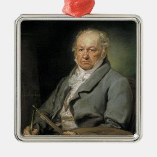 Portrait Francisco de Goya Vicente López Portaña Metal Ornament