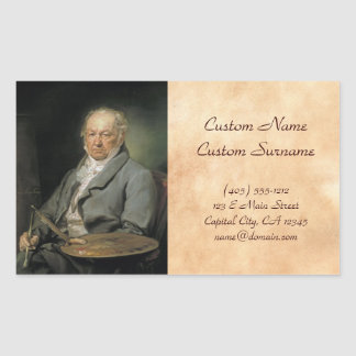Portrait Francisco de Goya Vicente López Portaña Rectangular Altavoces