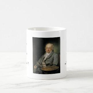 Portrait Francisco de Goya Vicente López Portaña Tazas