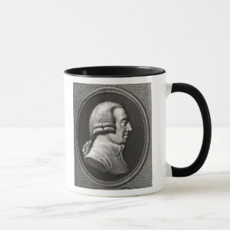 Portrait from a medallion of Adam Smith Mug