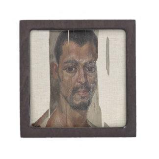 Portrait from Fayum (encaustic wax on wood) Gift Box