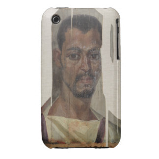Portrait from Fayum (encaustic wax on wood) iPhone 3 Cover