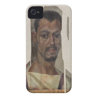 Portrait from Fayum (encaustic wax on wood) iPhone 4 Case-Mate Case