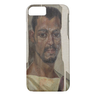 Portrait from Fayum (encaustic wax on wood) iPhone 7 Case