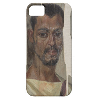 Portrait from Fayum (encaustic wax on wood) iPhone SE/5/5s Case