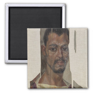 Portrait from Fayum (encaustic wax on wood) Magnet