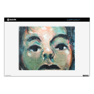 Portrait from the East Side Gallery Skin For Laptop