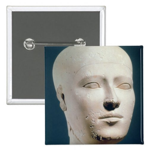 Portrait from the graves of the Giza Pinback Buttons