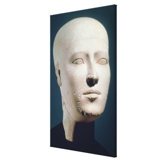 Portrait from the graves of the Giza Canvas Print