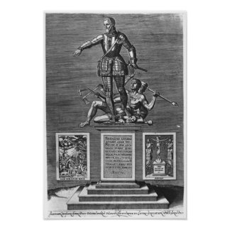 Portrait Glorifying Ferdinand Alvarez of Toledo Poster