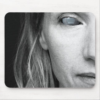 Portrait Ha Mouse Pad