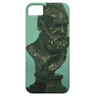 Portrait head of Victor Hugo (1802-85) (bronze) iPhone 5 Cases