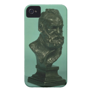 Portrait head of Victor Hugo (1802-85) (bronze) Case-Mate iPhone 4 Case