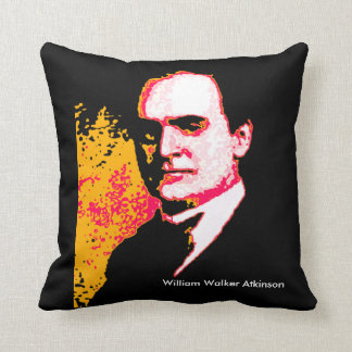 Portrait Image of William Walker Atkinson Throw Pillow