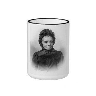 """PORTRAIT """"IRENE"""" (1890s) Ringer Coffee Mug"""
