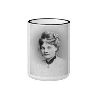 "PORTRAIT ""KATHY"" (1870s) Ringer Coffee Mug"