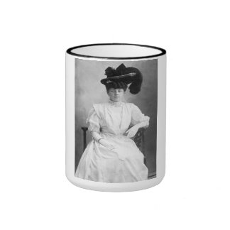 """PORTRAIT """"LAURENCE"""" (1900s) Ringer Mug"""