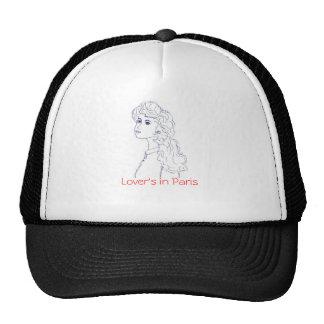 portrait, Lover's in Paris Trucker Hat