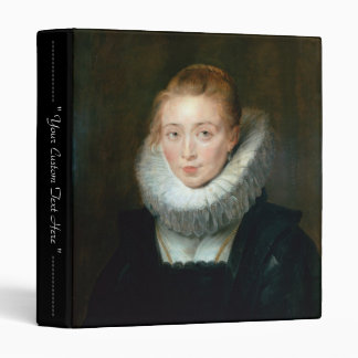 Portrait Maid Honour Infanta Isabella Rubens Paul 3 Ring Binder