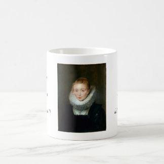Portrait Maid Honour Infanta Isabella Rubens Paul Classic White Coffee Mug