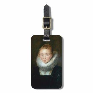 Portrait Maid Honour Infanta Isabella Rubens Paul Bag Tags