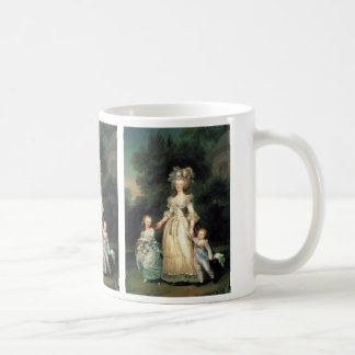 PORTRAIT MARIE ANTOINETTE AND CHILDREN COFFEE MUG