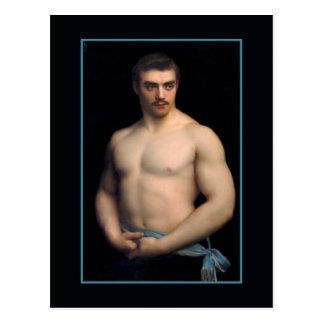 Portrait Maurice Deriaz by Courtois Postcard