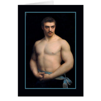 Portrait Maurice Deriaz by Courtois Stationery Note Card
