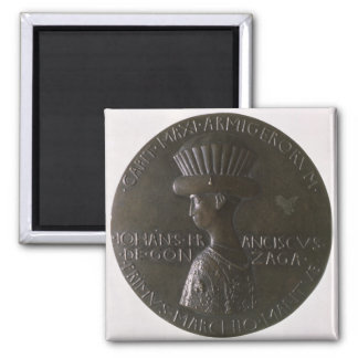 Portrait medal depicting Gianfrancesco Gonzaga (13 Magnet