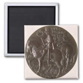 Portrait medal, reverse depicting Gianfrancesco Go Magnet