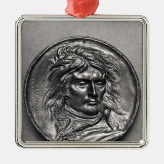 Portrait medallion of General Bonaparte  c.1830 Metal Ornament