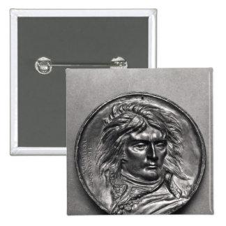 Portrait medallion of General Bonaparte  c.1830 Pinback Button