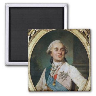 Portrait Medallion of Louis XVI  1775 Magnet