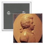 Portrait medallion of Wolfgang Amadeus Mozart Button